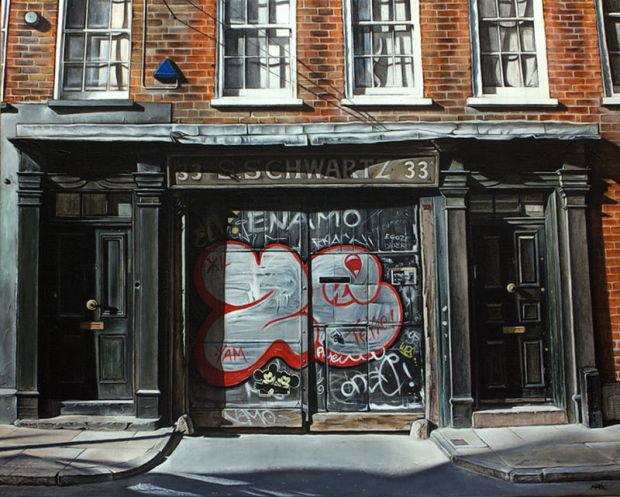 Marc Gooderham, Late Afternoon Spitalfields