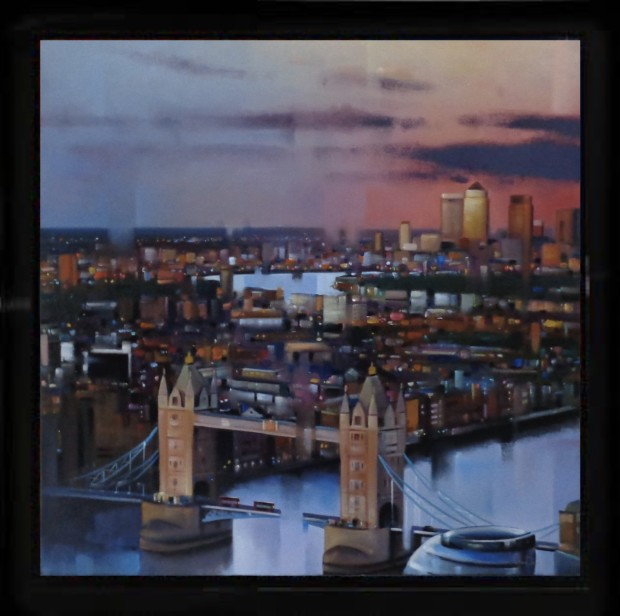 Neil Dawson, View From The Shard, 2018