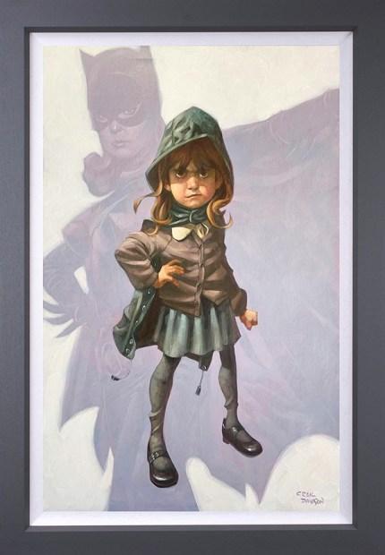 Craig Davison, Gotham Girl - Canvas, 2020