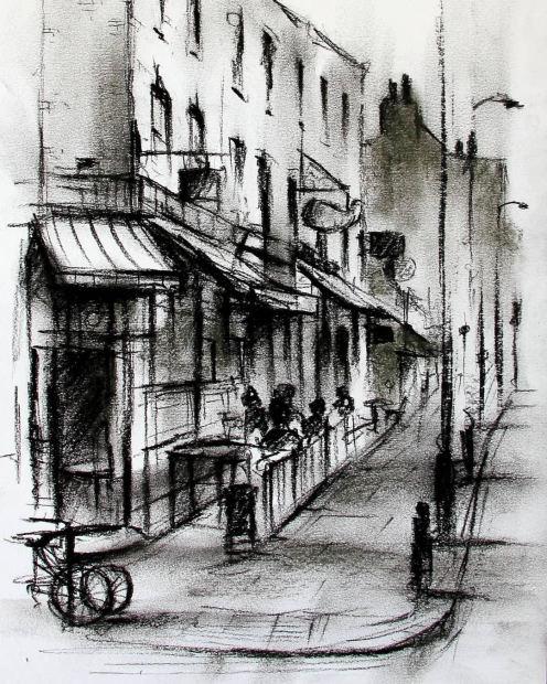 Marc Gooderham, Stoke Newington - Church Street, 2019