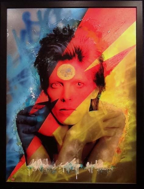 Dan Pearce, Ziggy - Bowie, 2017