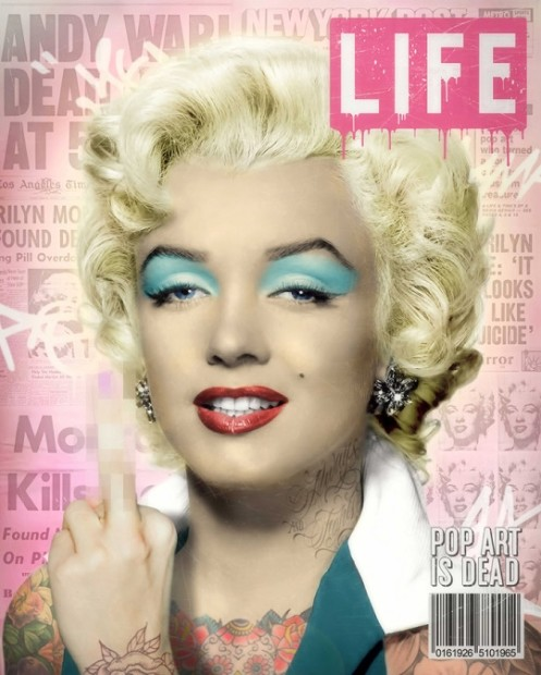 JJ Adams, Warhol's Marilyn, 2017