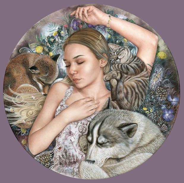 Kerry Darlington, Sleeping Beauty, 2021