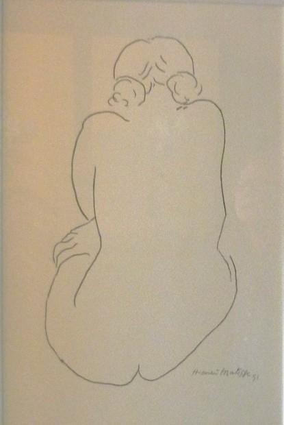 Peter Osborne, Matisse - Line Drawing 49, 2017