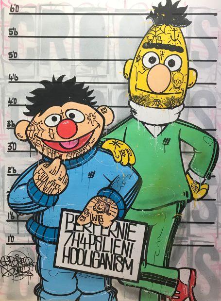 Opake One, Bert and Ernie, 2021
