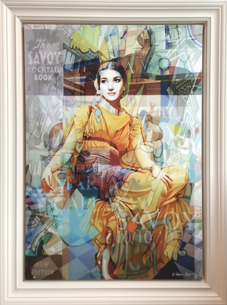 Stuart McAlpine Miller, Maria Callas: A Moment of Respite The Savoy Suite