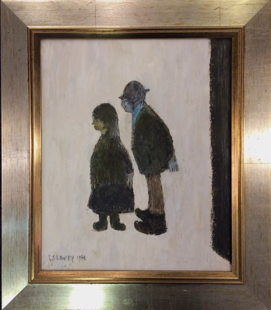 Peter Osborne, LS Lowry - Two People, 2018