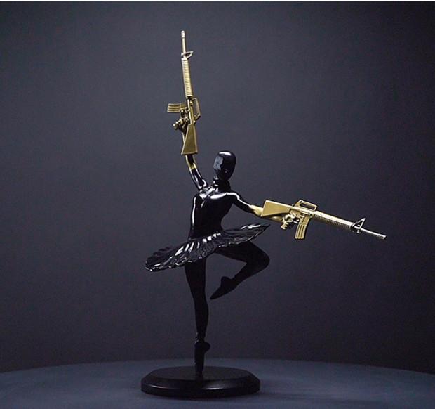 Maxim (From the Prodigy), Balaclava Ballerina - Black / Gold, 2021