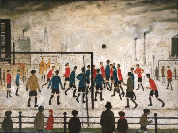 Peter Osborne, L S Lowry - The Football Match