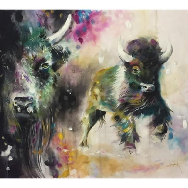 Katy Jade Dobson, Bison - Original, 2017