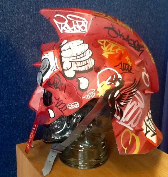ZombieDan, Vandal Helmet - Red, 2018