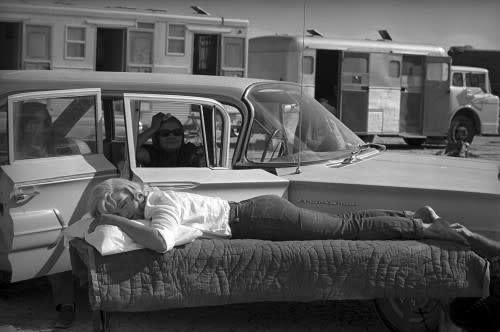 Eve Arnold, Resting On The Set of The Misfits, 1960, 2007