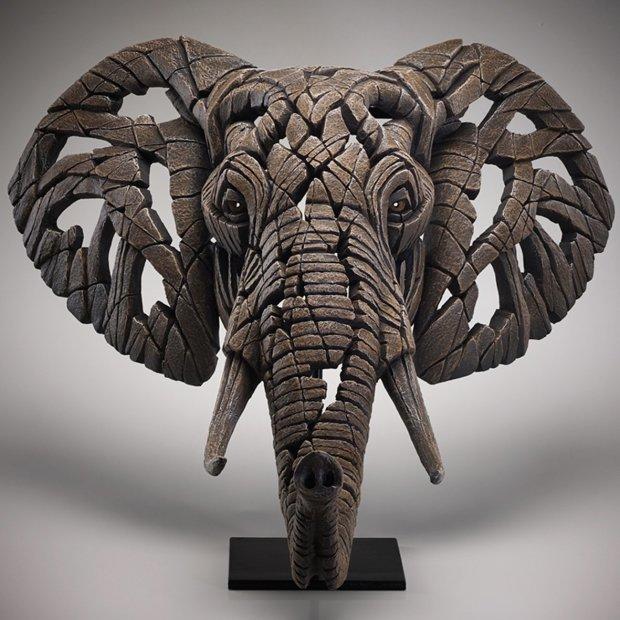 Matt Buckley, African Elephant Bust, 2018