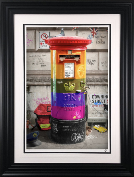 JJ Adams, Postman Patrick (Rainbow Edition), 2020