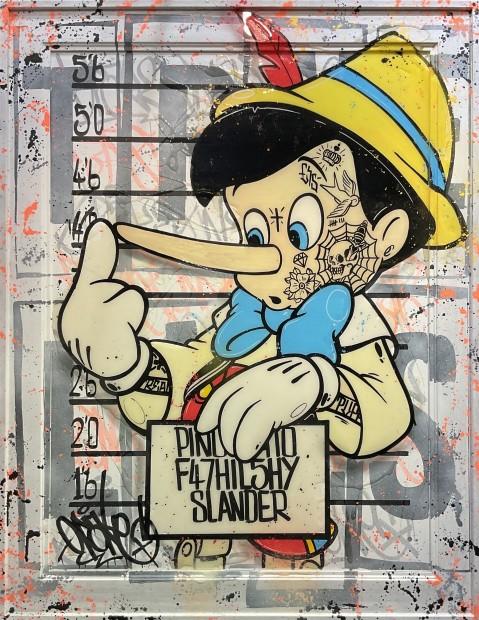 Opake One, Pinocchio Nose , 2020