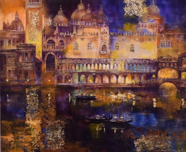 Veronika Benoni, Evening In Venice, 2019