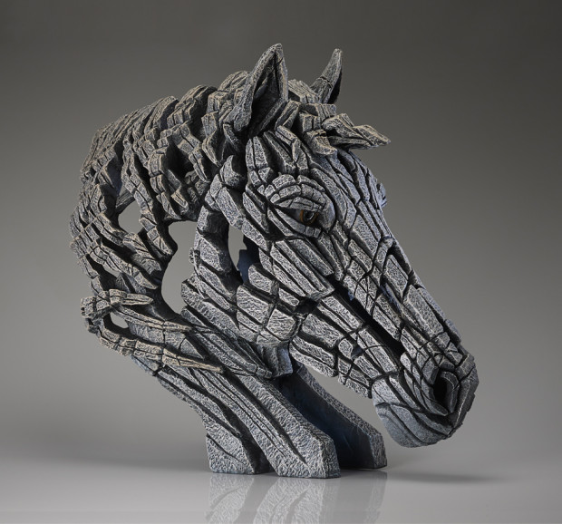 Matt Buckley, Horse Bust (White)