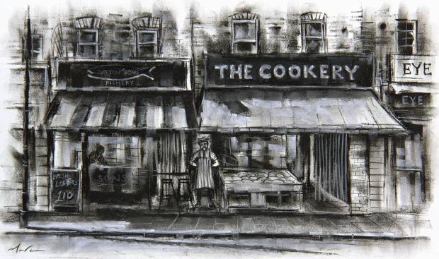 Marc Gooderham, The Cookery - Hackney, 2019