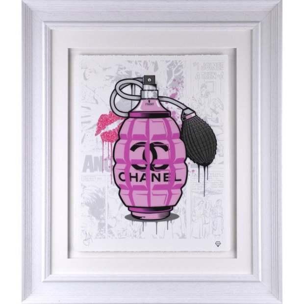JJ Adams, Designer Grenades - Chanel Perfume, 2020
