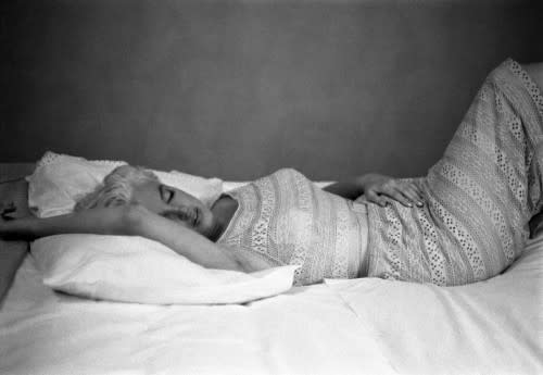 Eve Arnold, Resting After A Plane Journet Bement Illinios, 1955, 2007