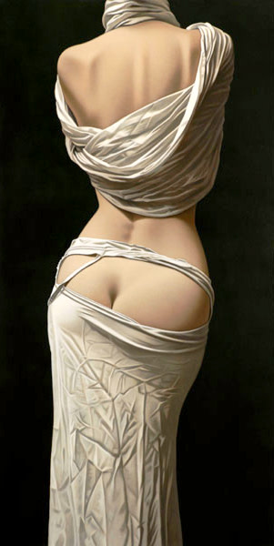 Willi Kissmer, Nude From the Back