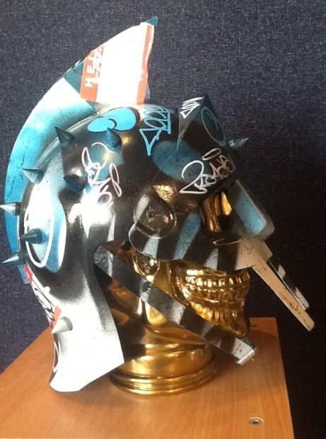 ZombieDan, Vandal Helmet - Blue, 2018