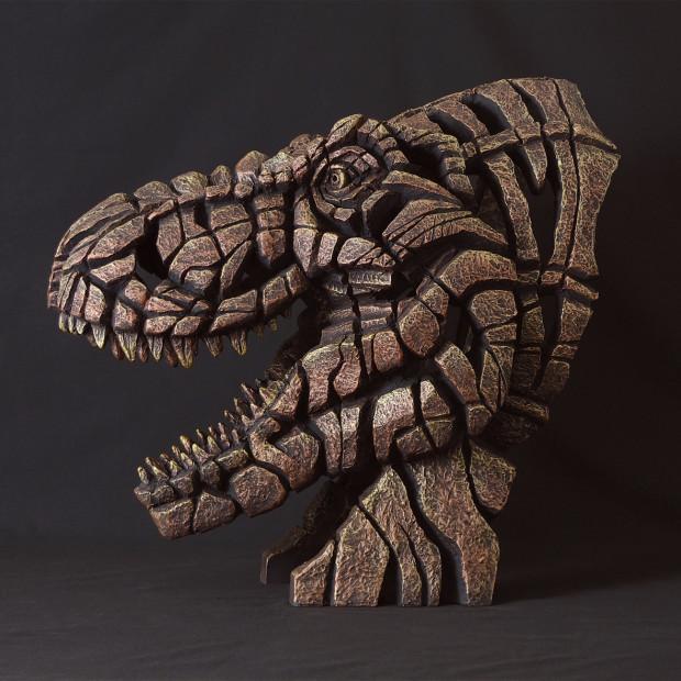 Matt Buckley, Tyrannosaurus Rex Bust (Fossil Bronze Patina)