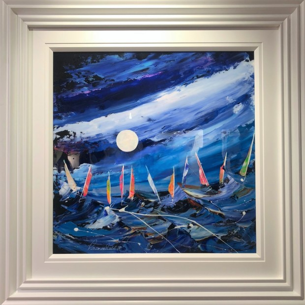 Rozanne Bell, Regatta By Moonlight, 2019