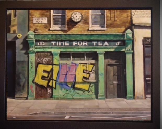 Marc Gooderham, Time For Tea, 2017