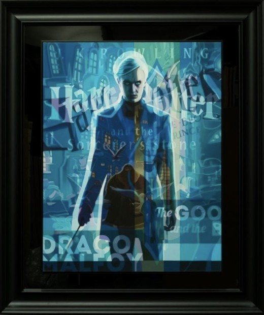 Stuart McAlpine Miller From The Evil Within, 2021 Framed Limited Edition Boxed Canvas Framed Size : 46 1/2 x 39 inches Framed Size : 117 x 98.5 cms Edition of 75
