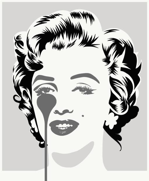 Pure Evil, Marilyn Classic - Silver & Black , 2021