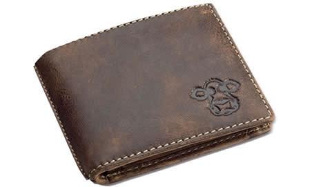 Caroline Shotton, Leather Gentleman's Wallet