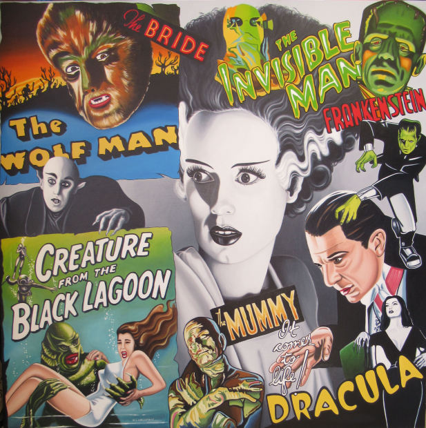 Marie Louise Wrightson, The Bride of Frankenstein (Classic Horror), 2020