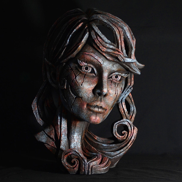 Matt Buckley, Elf Bust - Iron Pink Mist , 2017