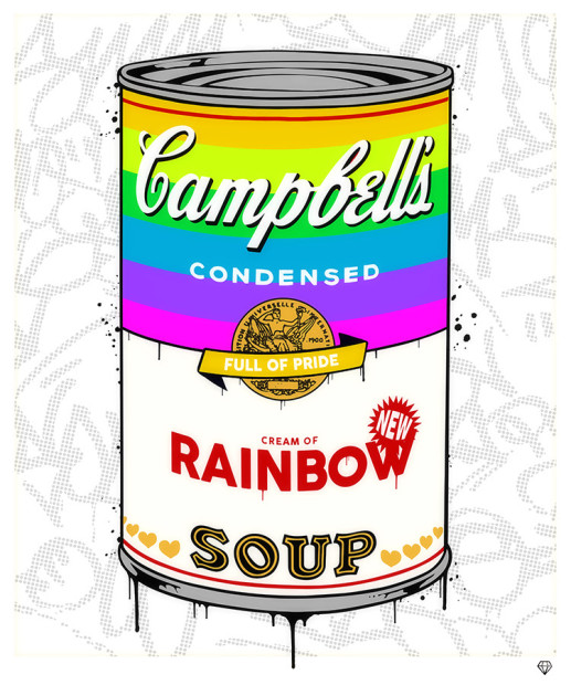 JJ Adams, Rainbow Soup - Campbells, 2020
