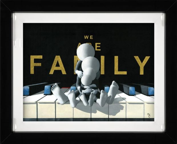 Mark Grieves, We Are Family - 3D High Gloss, 2019