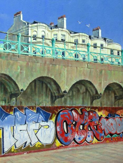 Marc Gooderham, Underneath The Arches - A Brighton Series -Original , 2018