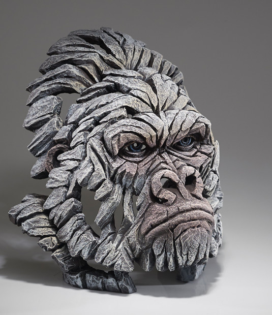 Matt Buckley, Gorilla Bust - White