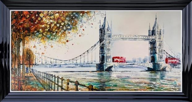 Nigel Cooke, Towers In London , 2021
