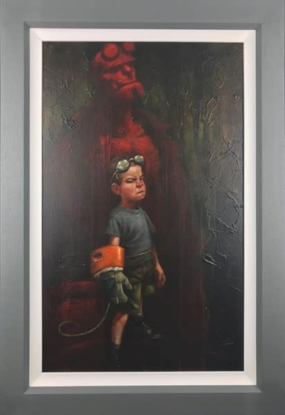 Craig Davison, Golden Years - Hell Yeah - Canvas, 2018