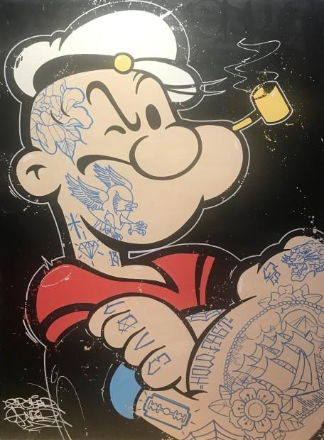 Opake One, Hold Fast Popeye, 2021