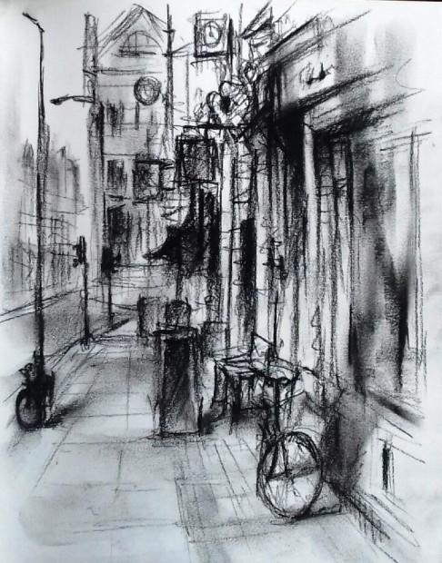 Marc Gooderham, Two Bicycles – Bloomsbury , 2018