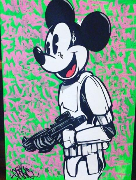 Opake One, Mickey Trooper , 2018