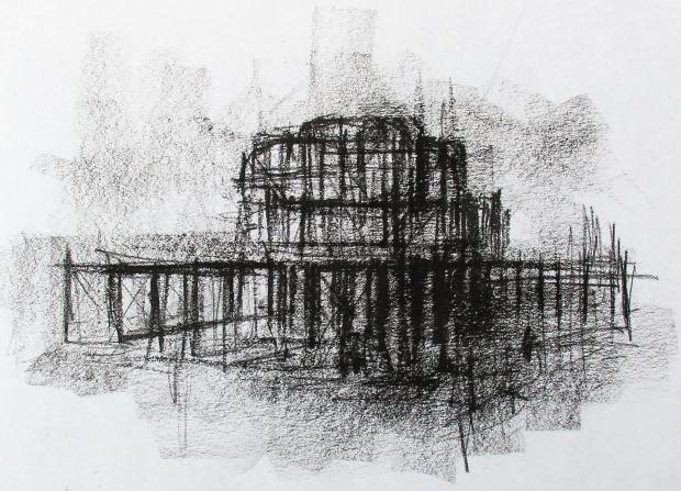 Marc Gooderham, Old West Pier - Brighton, 2021