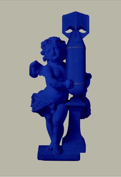 Magnus Gjoen, CUPID (AMOR VINCIT OMNIA) - Blue, 2020