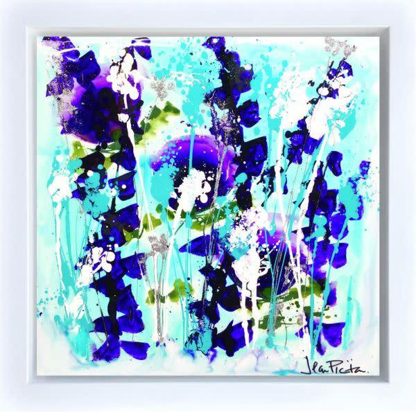 Jean Picton Brit Pop, 2019 Acrylic On Canvas Framed Size: 70x70cm