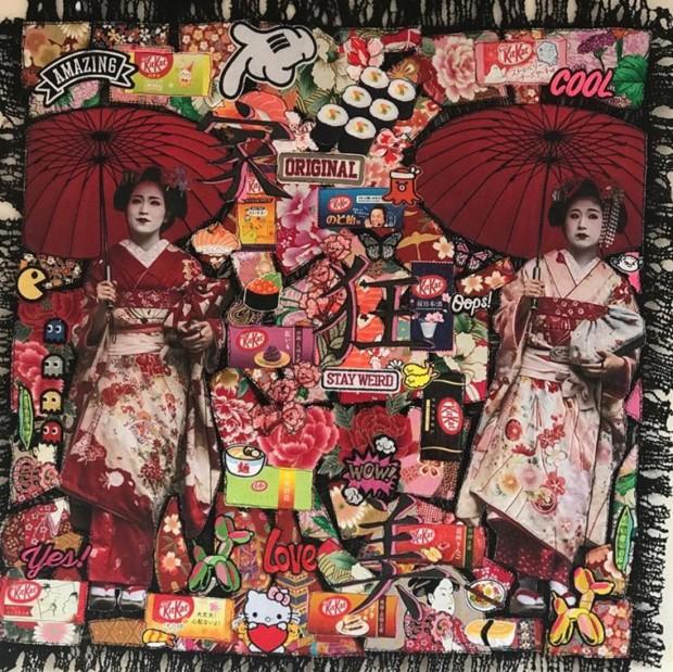 Roberta Roman, Crazy Japan - Original, 2019