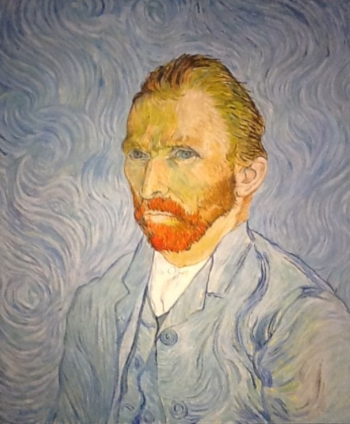 Peter Osborne, Vincent Van Gogh - Self Portrait, 2018