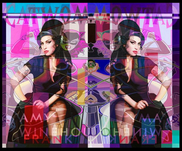 Stuart McAlpine Miller, Amy Winehouse 'Negative Belief', 2021