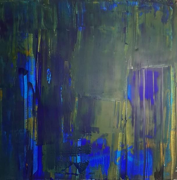 Alexander Rhys, Blue in Green, 2020